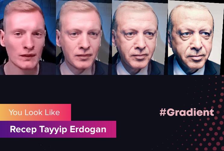 Chessik Gradient Recep Tayyip Erdogan