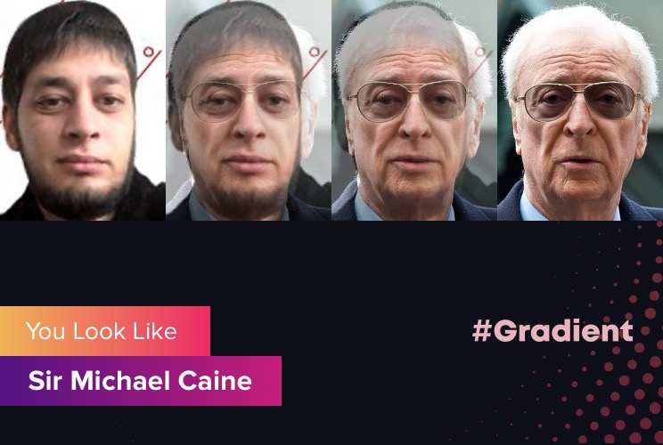 Ludosik Gradient Sir Michael Caine