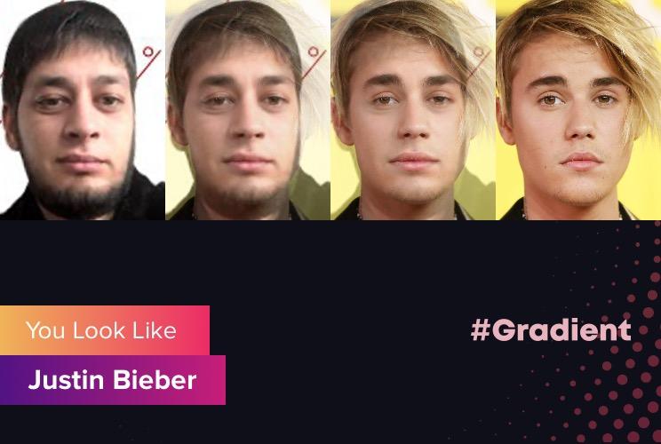 Ludosik Gradient Justine Bieber