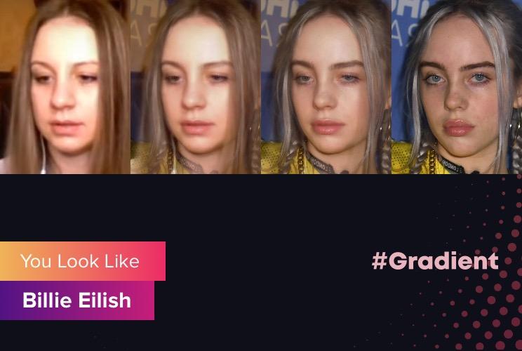 Cherry Rich Gradient Billie Eilish