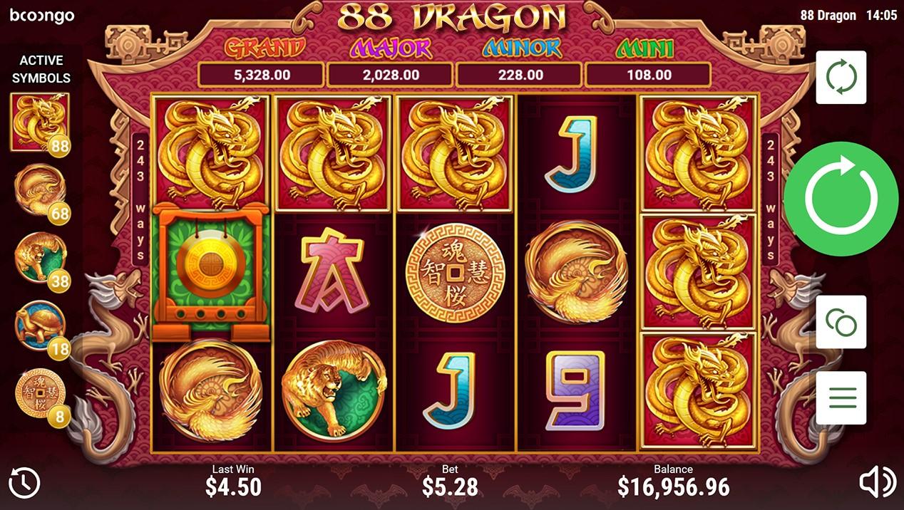 88 Dragon играть бесплатно