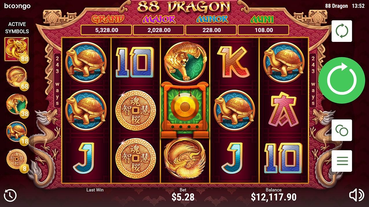 Слот 88 Dragon играть