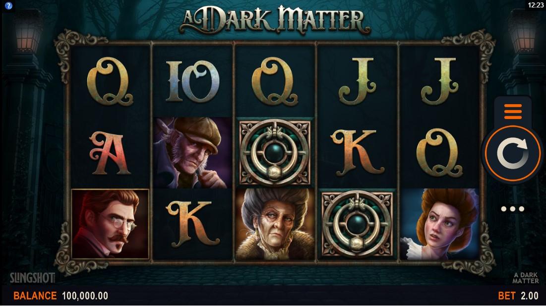 Бесплатный игровой автомат A Dark Matter