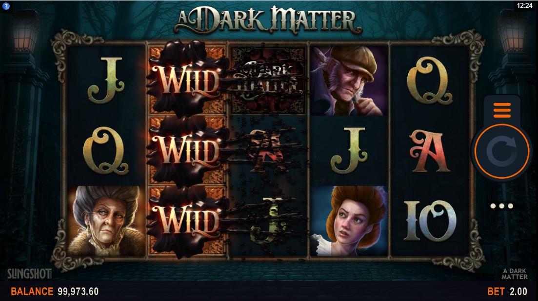 Онлайн слот A Dark Matter