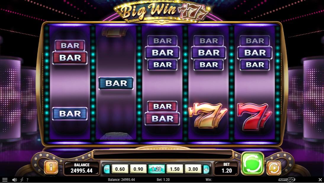 Big Win 777 слот онлайн