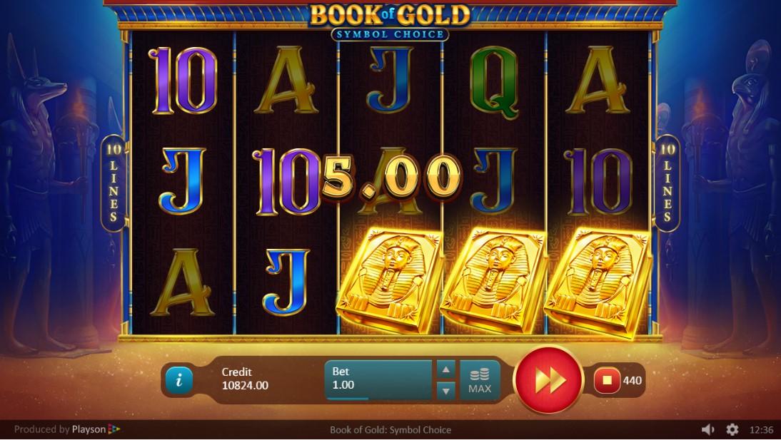 Book of Gold Symbol Choice игровой автомат