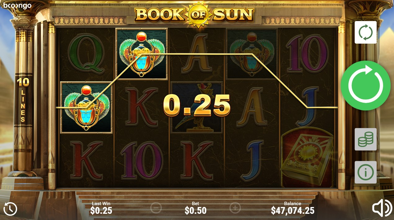 Бесплатный слот Book of Sun