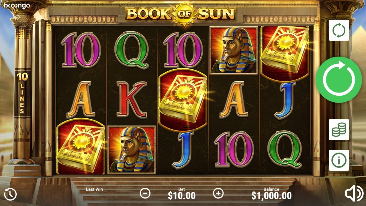 Book of Sun играть бесплатно