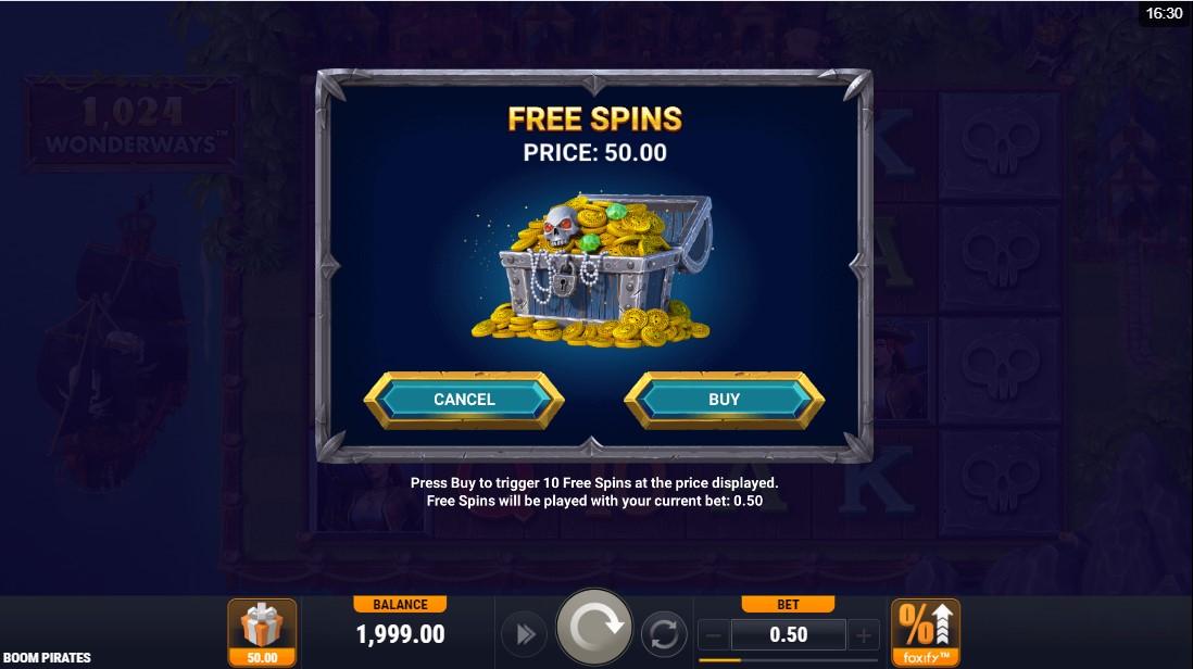 Boom Pirates игровой автомат
