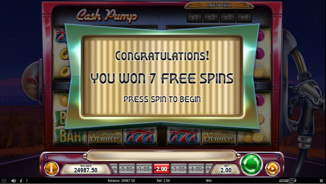Онлайн слот Cash Pump