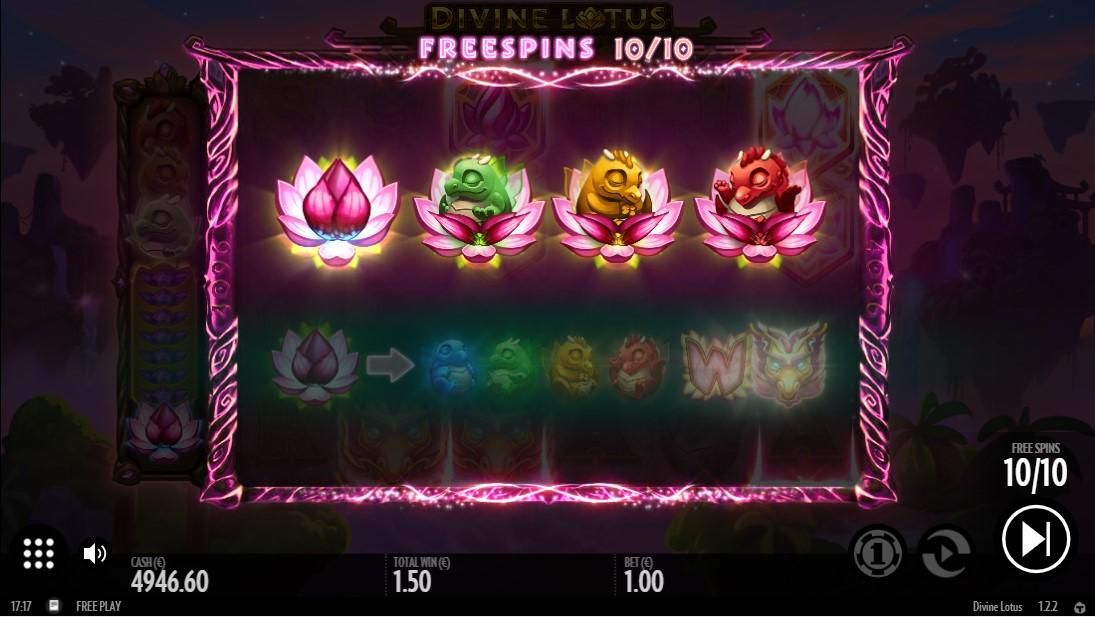 Слот Divine Lotus играть