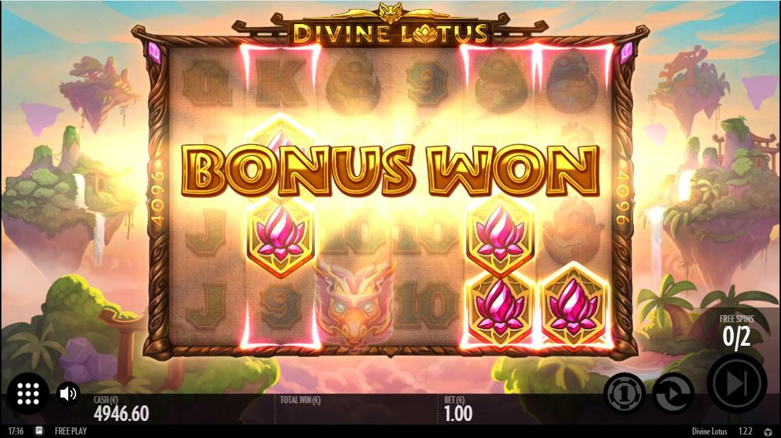Бесплатный игровой автомат Divine Lotus