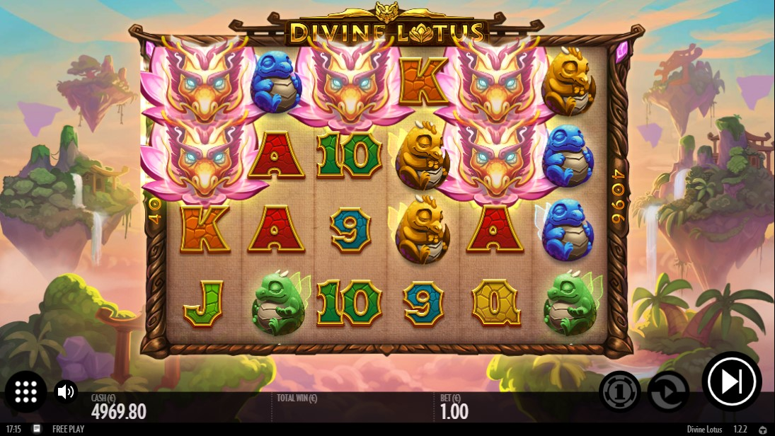 Divine Lotus играть бесплатно