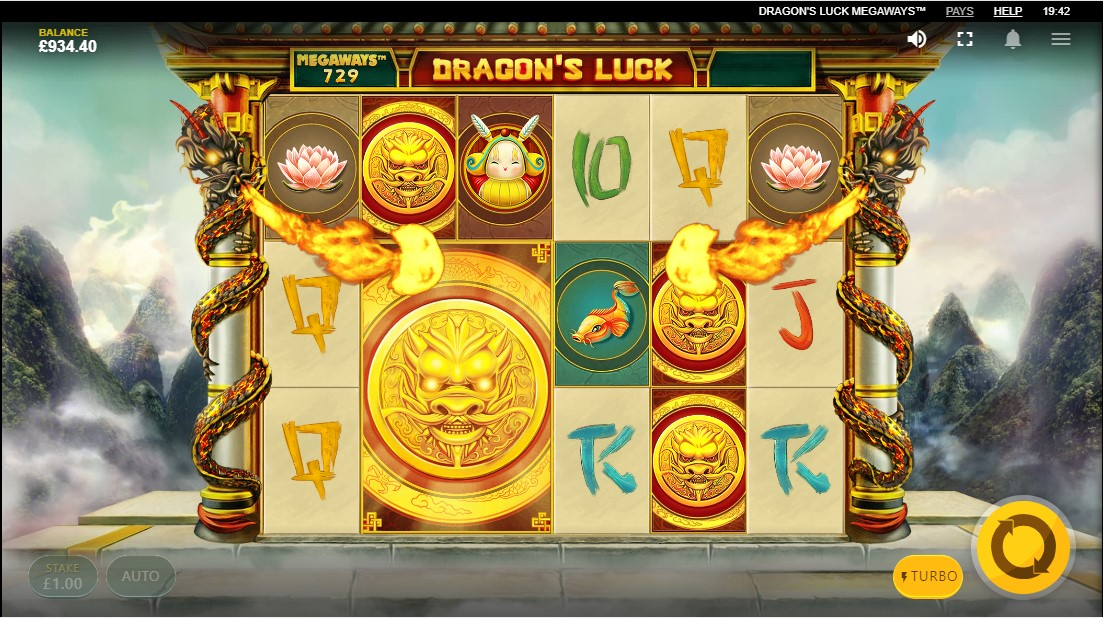 Онлайн слот Dragon's Luck