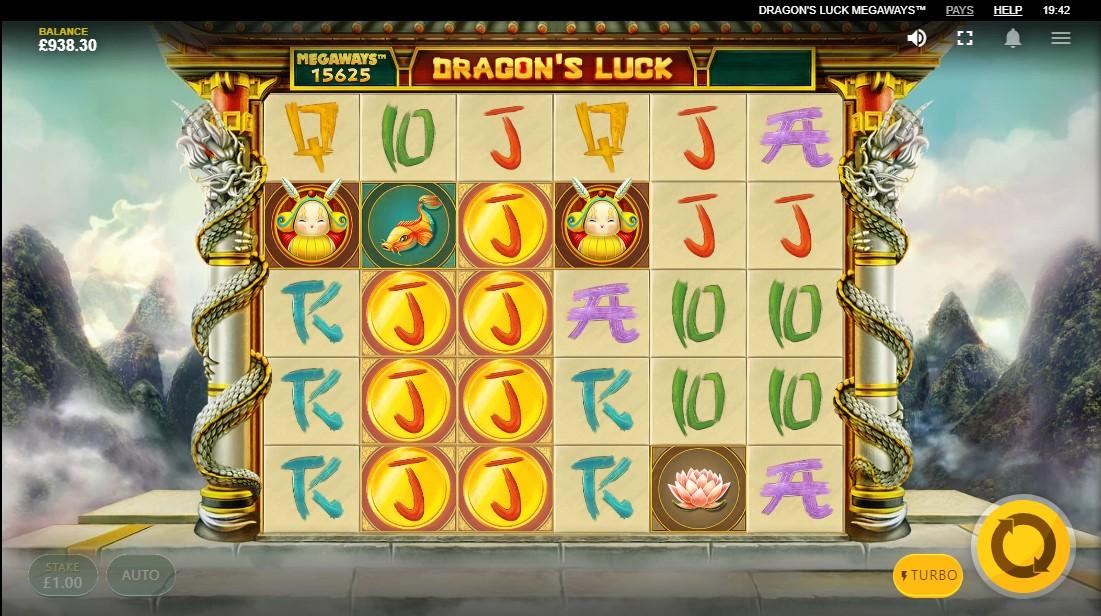 Игровой автомат Dragon's Luck