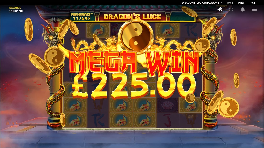 Слот Dragon's Luck играть