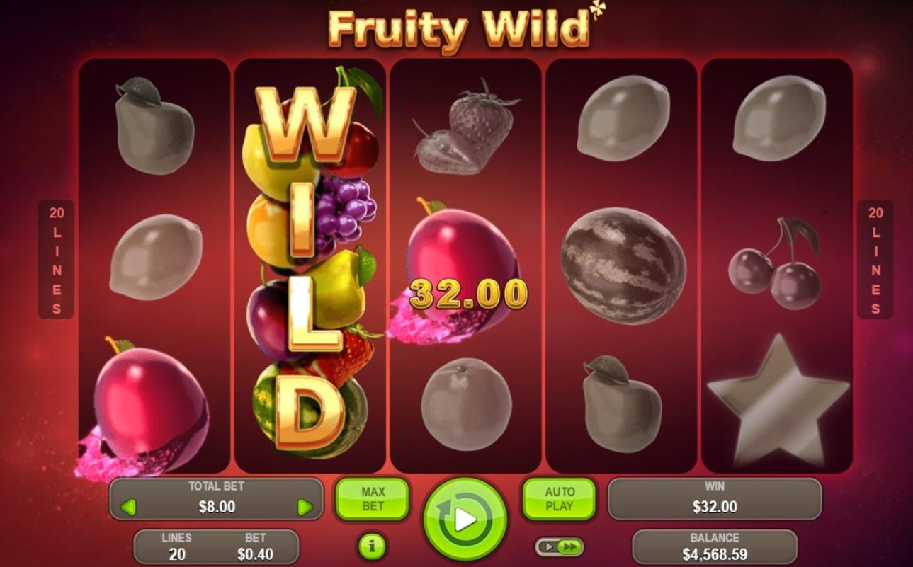 Слот Fruity Wild играть