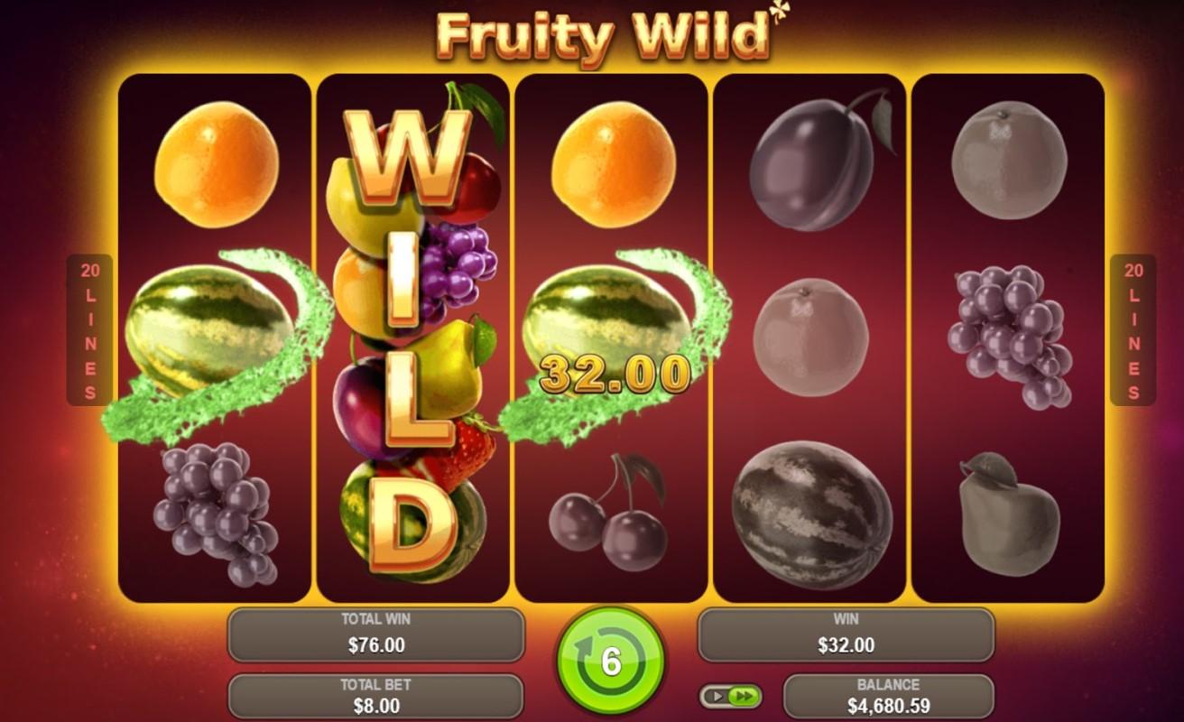 Игровой автомат Fruity Wild