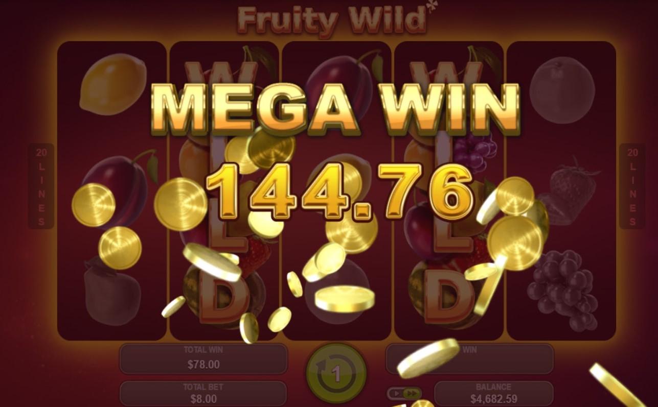 Онлайн слот Fruity Wild
