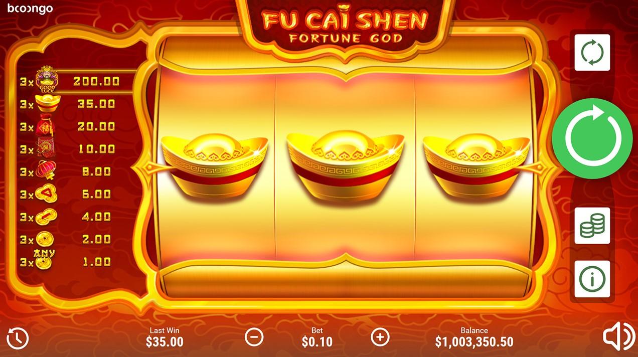Играть бесплатно Fu Cai Shen
