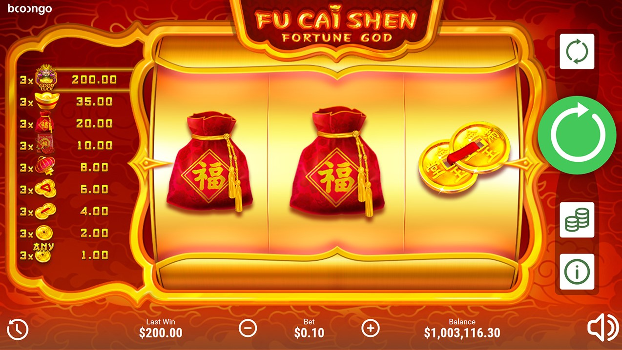Онлайн слот Fu Cai Shen
