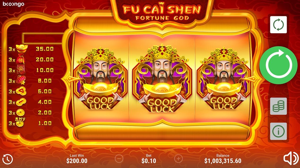 Игровой автомат Fu Cai Shen