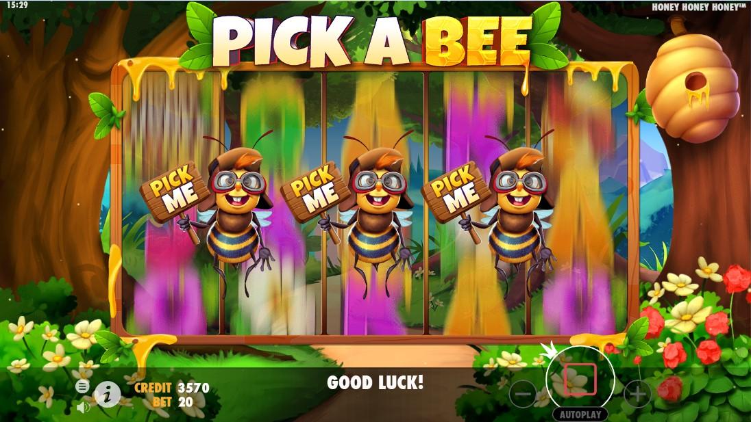 Играть бесплатно Honey Honey Honey