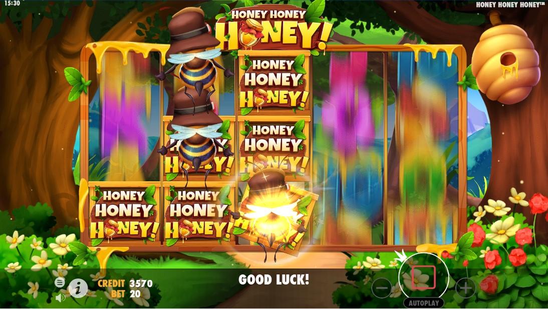 Онлайн слот Honey Honey Honey