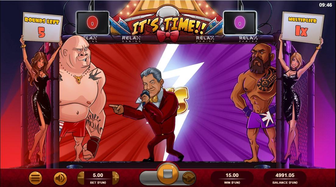 Бесплатный игровой автомат It's Time