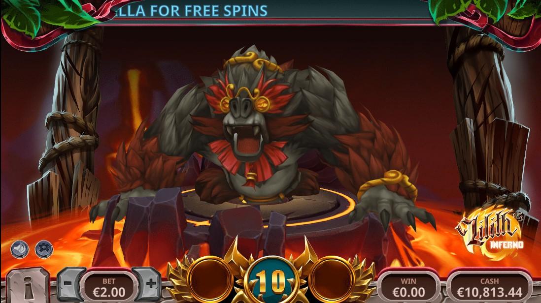 Игровой автомат Lilith's Inferno
