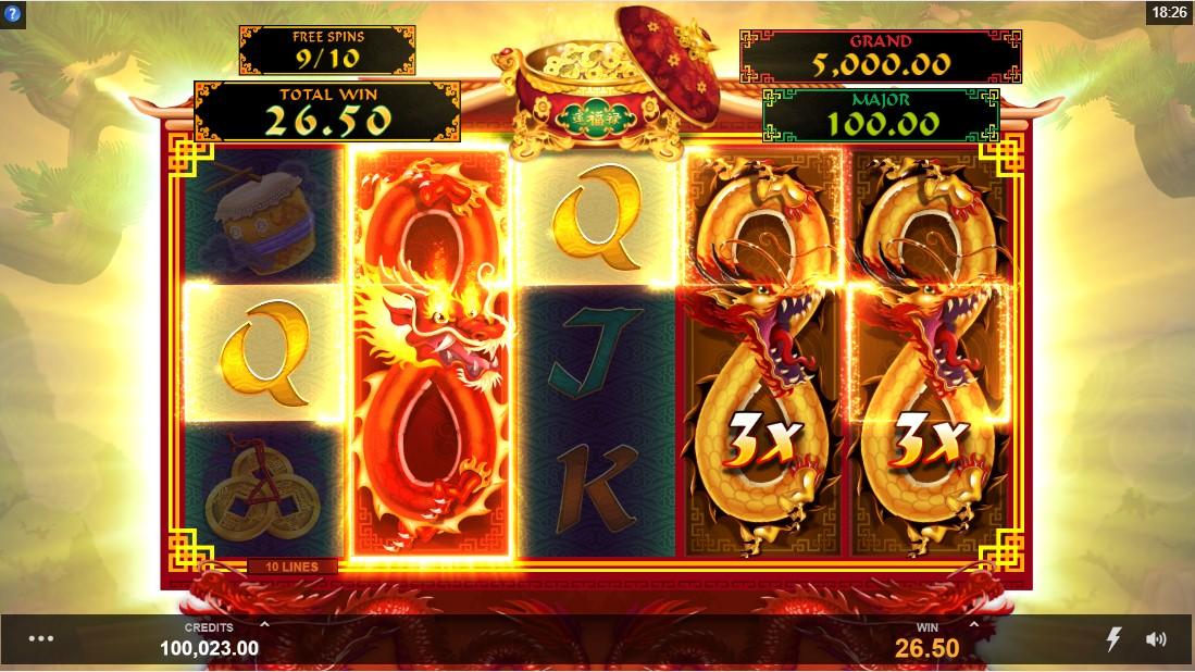 Игровой автомат Long Mu Fortunes