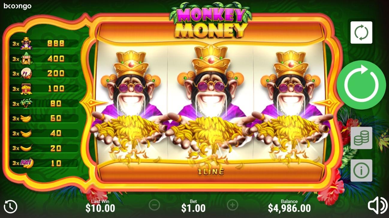 Слот Monkey Money играть