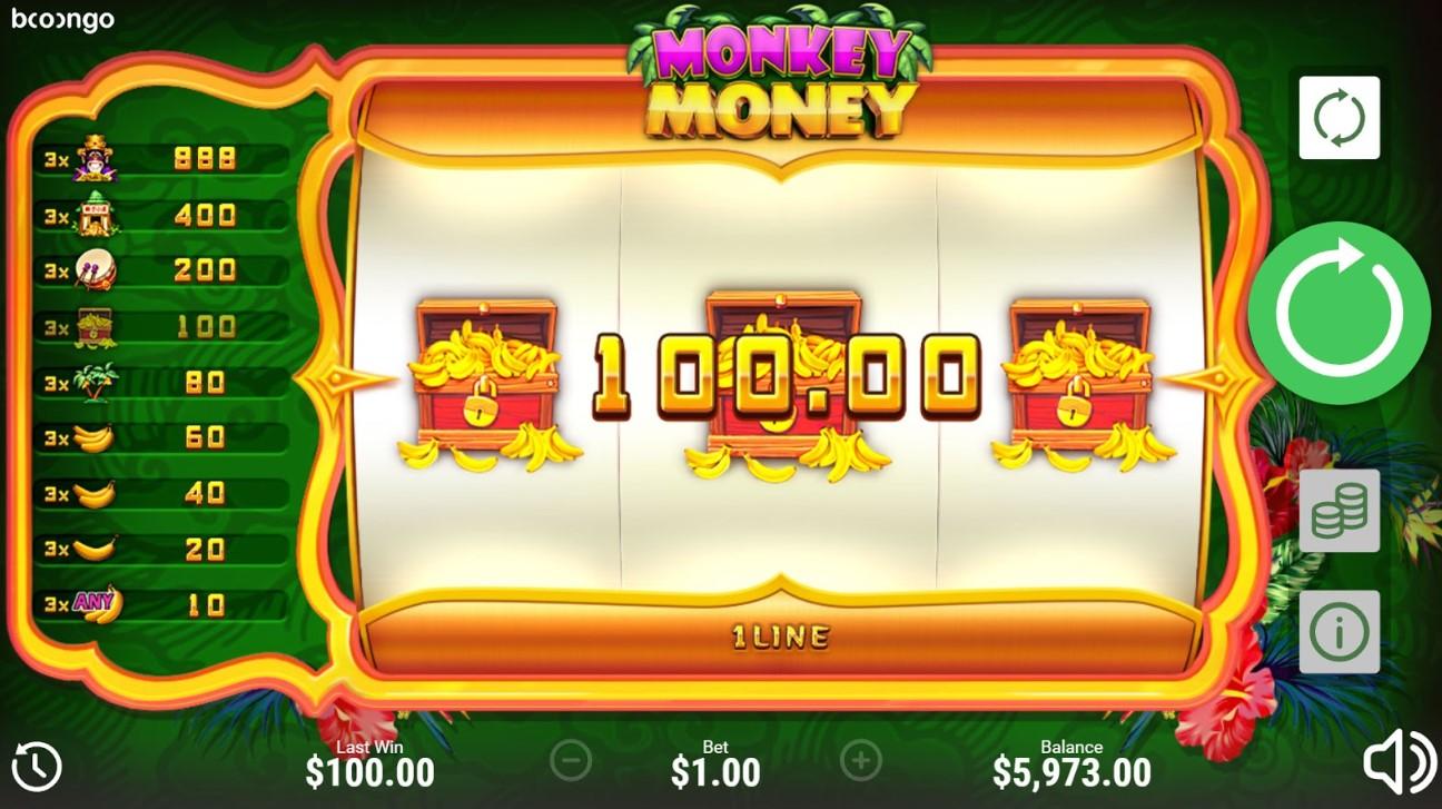 Monkey Money играть онлайн