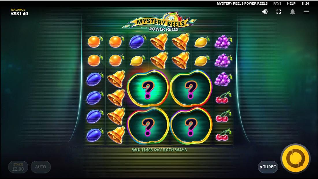 Игровой автомат Mystery Reels Power Reels