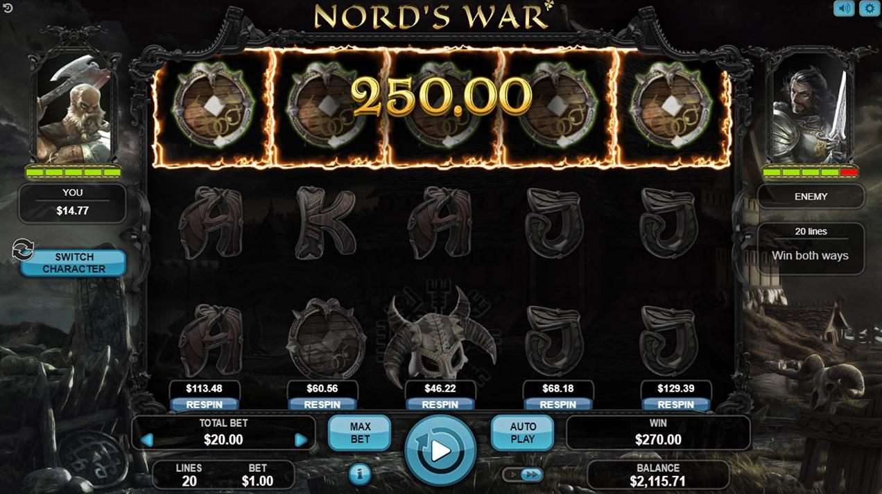 Слот Nord's War играть