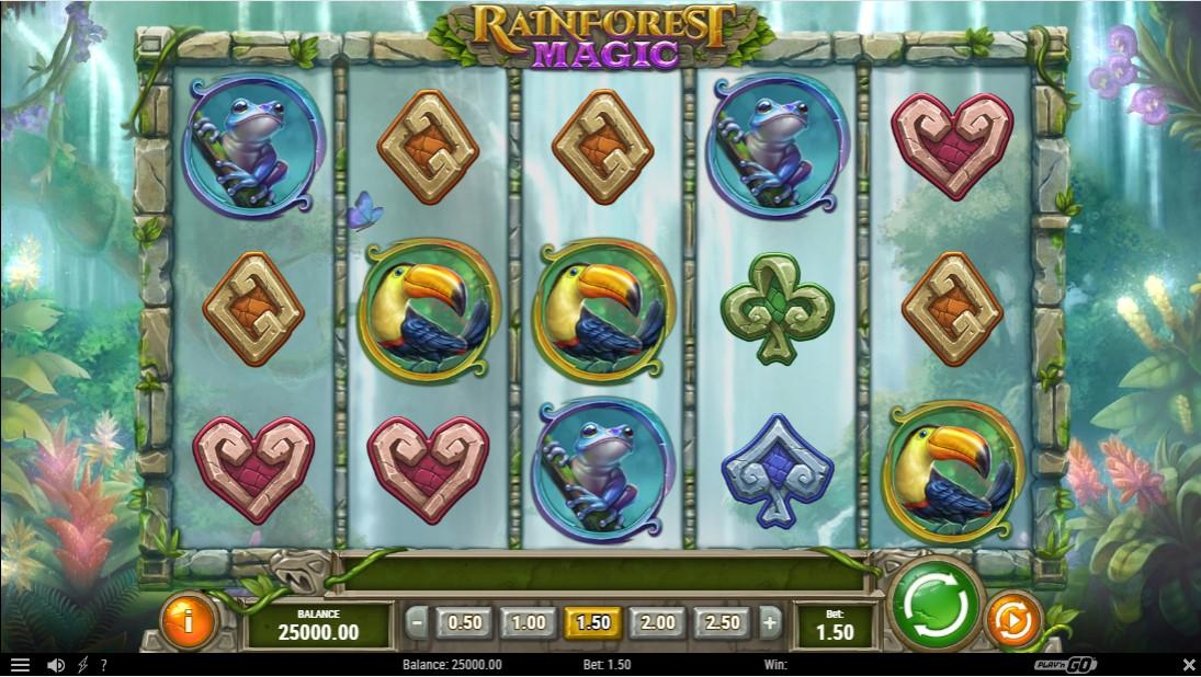 Играть бесплатно Rainforest Magic