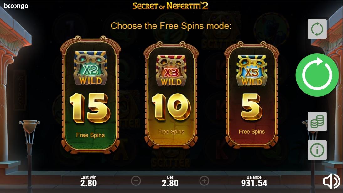 Играть бесплатно Secret of Nefertiti