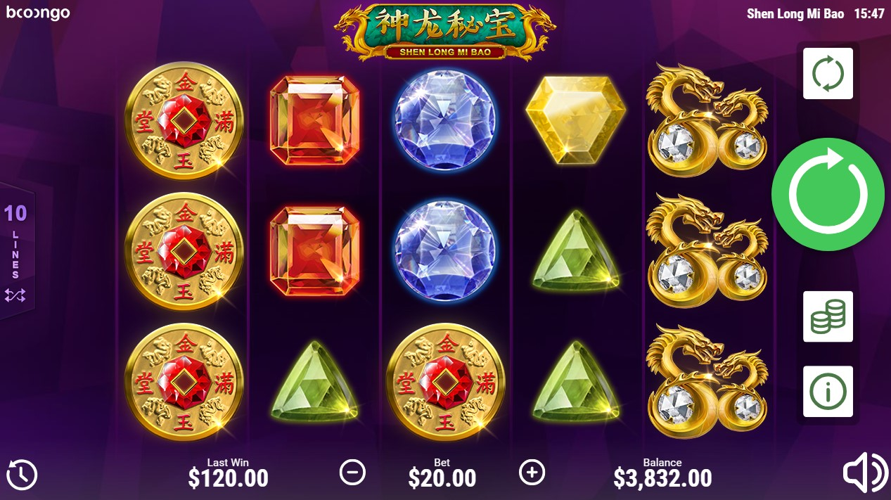 Shen Long Mi Bao игровой автомат