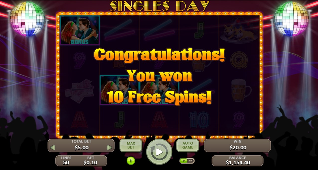 Онлайн слот Singles Day