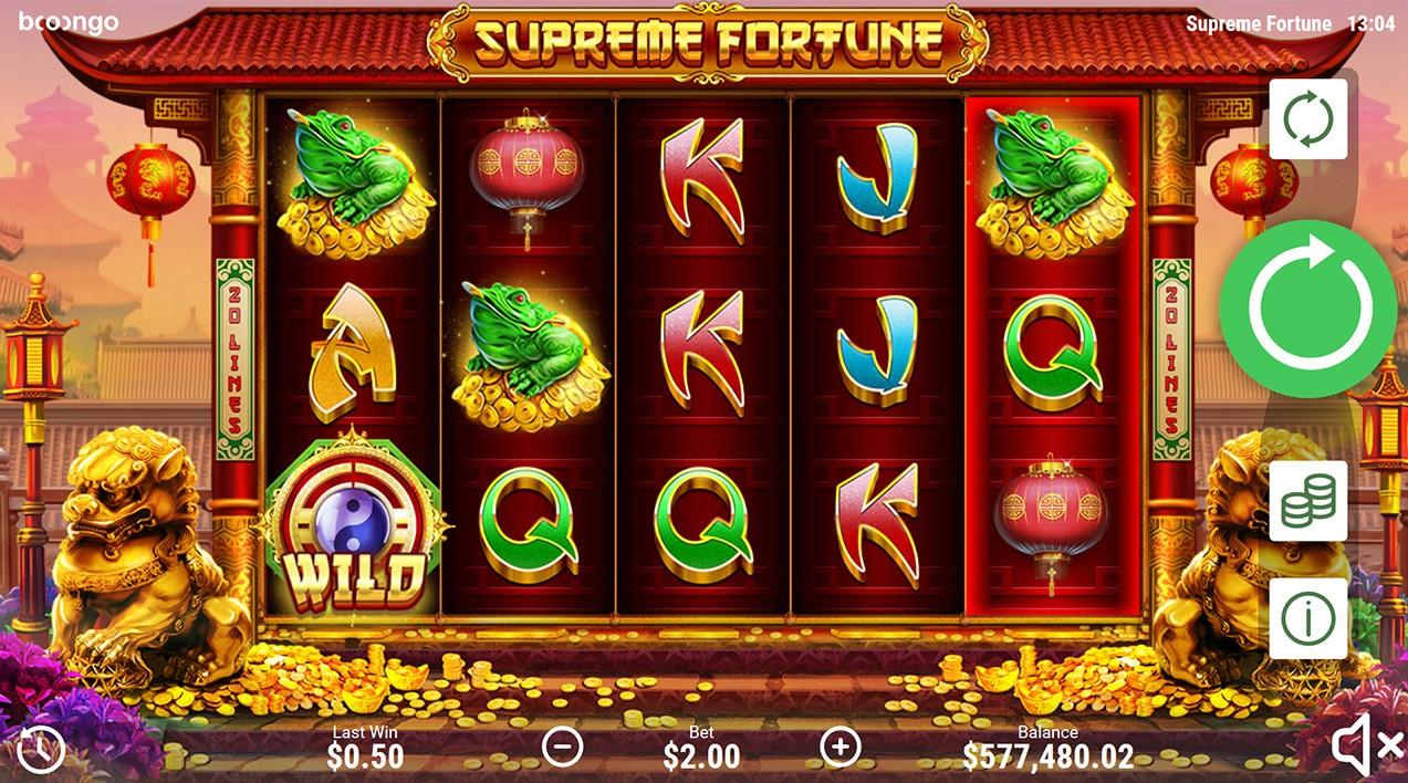 Игровой автомат Supreme Fortune