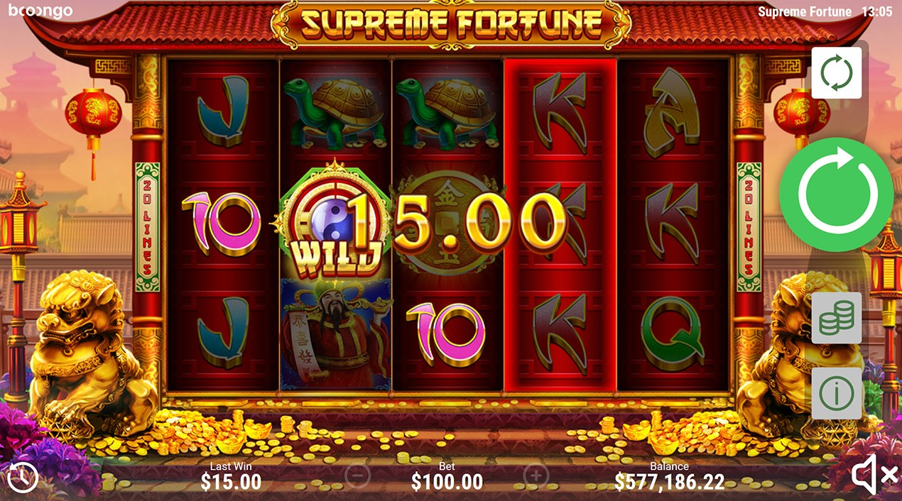 Онлайн слот Supreme Fortune