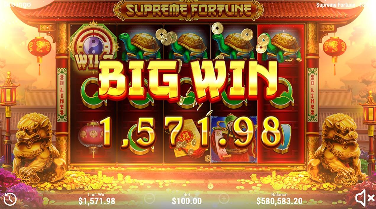 слот Supreme Fortune играть