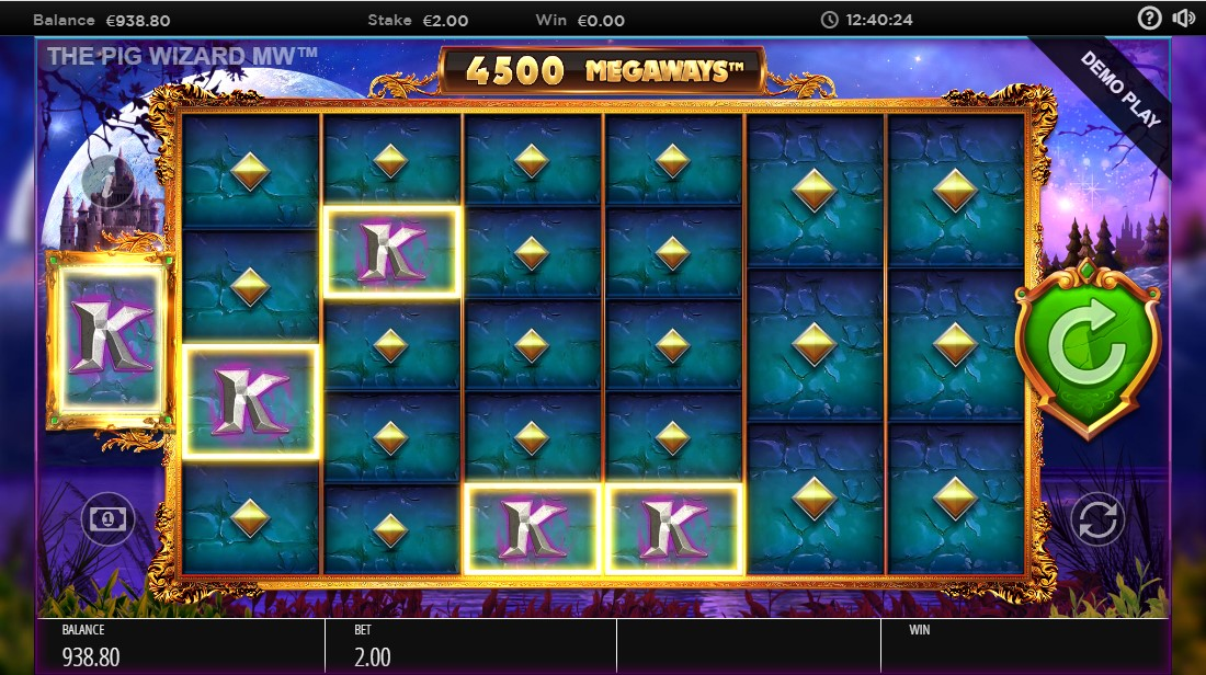 The Pig Wizard Megaways игровой автомат