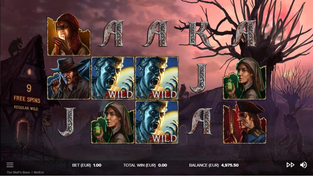 Игровой автомат The Wolf's Bane