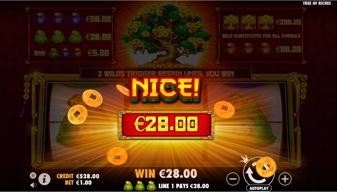 Онлайн слот Tree of Riches