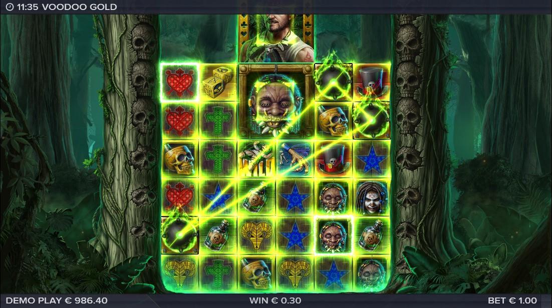 Слот Voodoo Gold играть