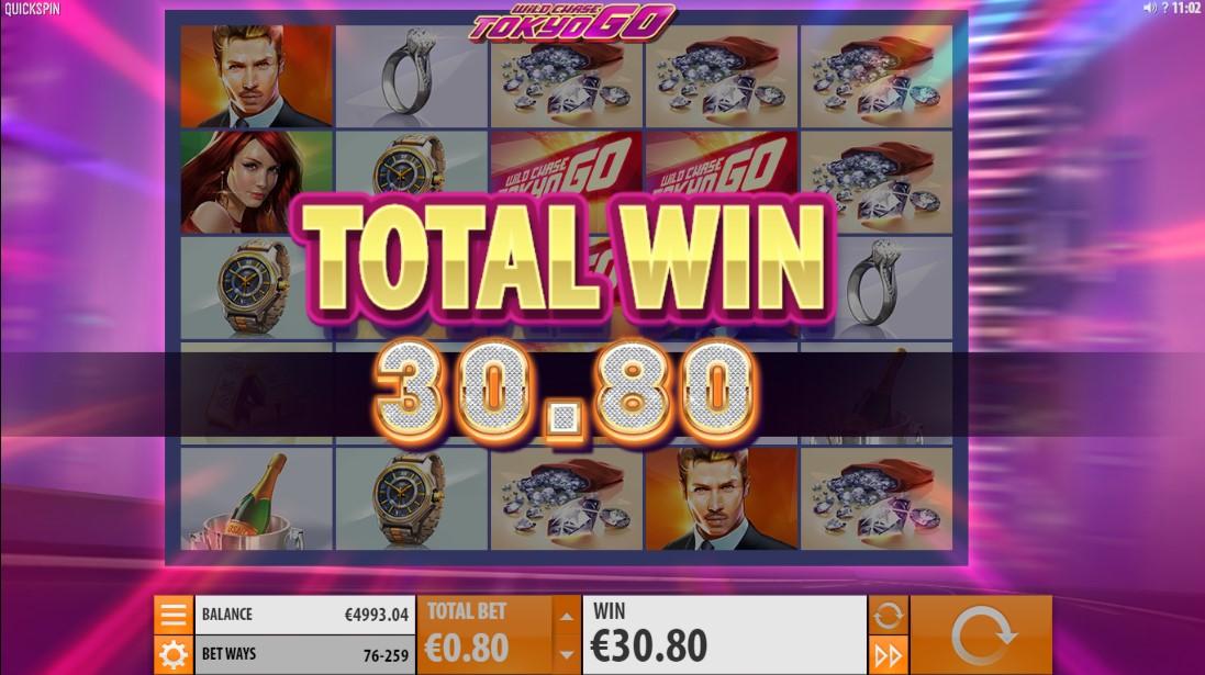 Игровой автомат Wild Chase Tokyo Go