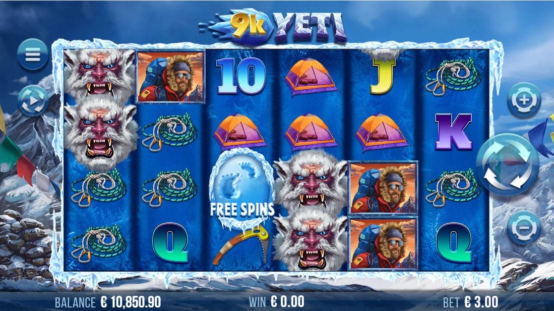 9k Yeti игровой автомат