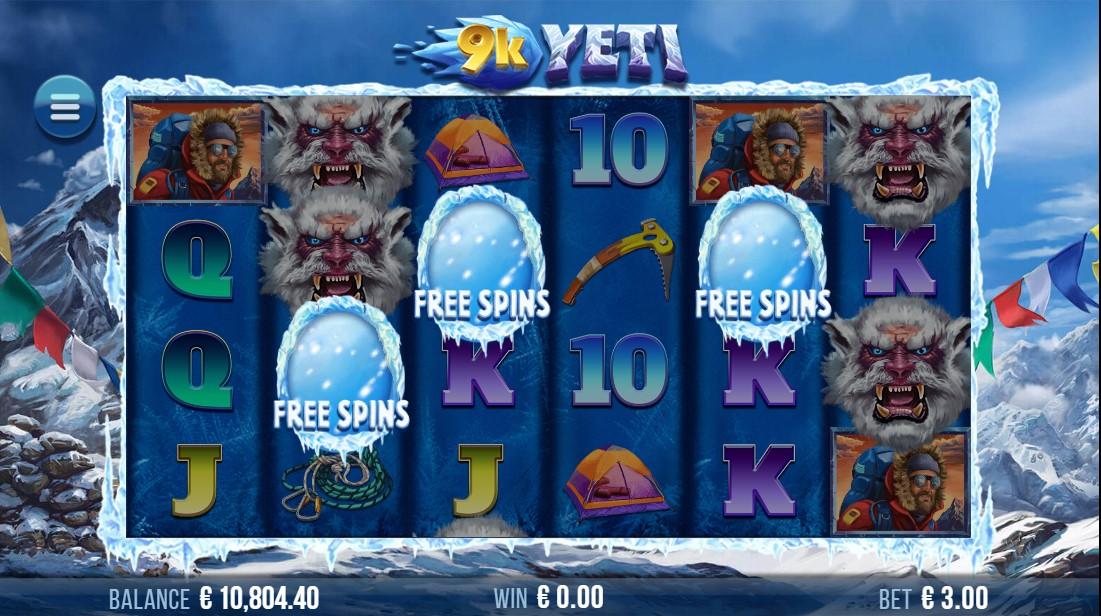 Слот 9k Yeti онлайн