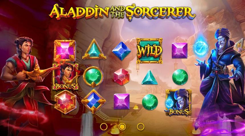Играть Aladdin и Sorcerer бесплатно